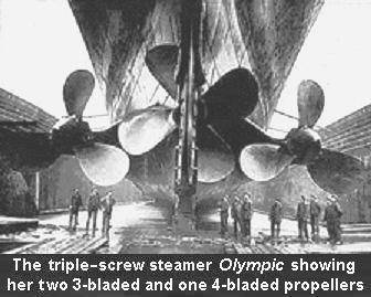 Olympic class propellers