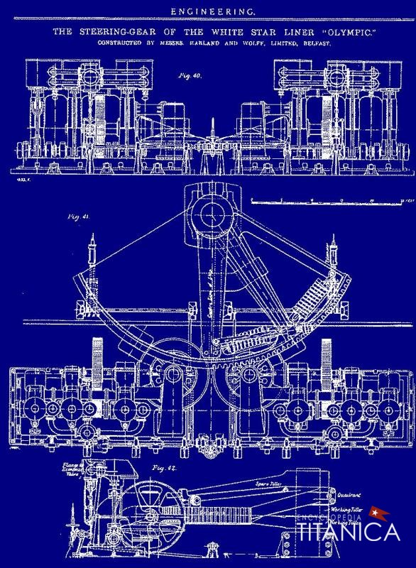 The Engine Room Design: Engine Crankcase Dwg & Accessories And Steering Engine