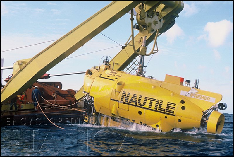 Recovery of the Submersible Nautile