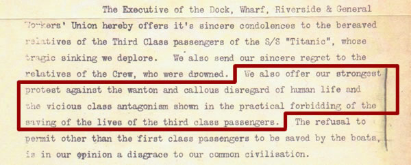 Class And Gender In Shaping The Memory Of The Titanic Disaster Since 1912