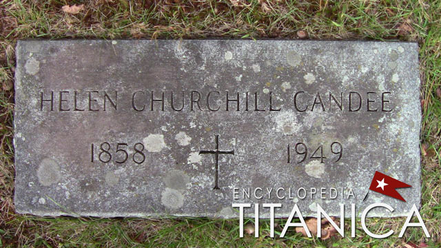 Grave of Helen Churchill Candee