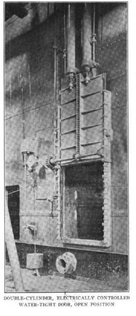 Watertight doors on Titanic