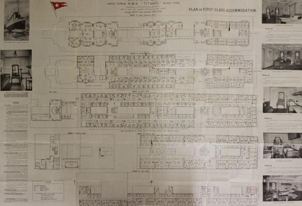 SPencer Titanic Deck Plan