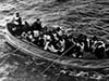 TITANIC SURVIVORS APPROACH THE CARPATHIA
