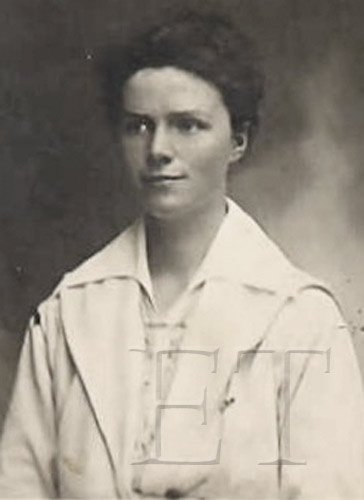 Photograph of Titanic Survivor Mary Lines