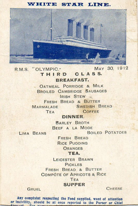 Rms Olympic The Early Years