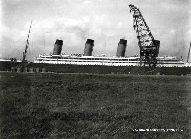 Olympic the first of a new class of ships for the white star line