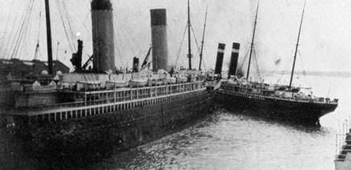 Titanic New York Incident