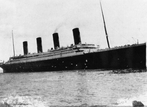 Titanic at Queenstown