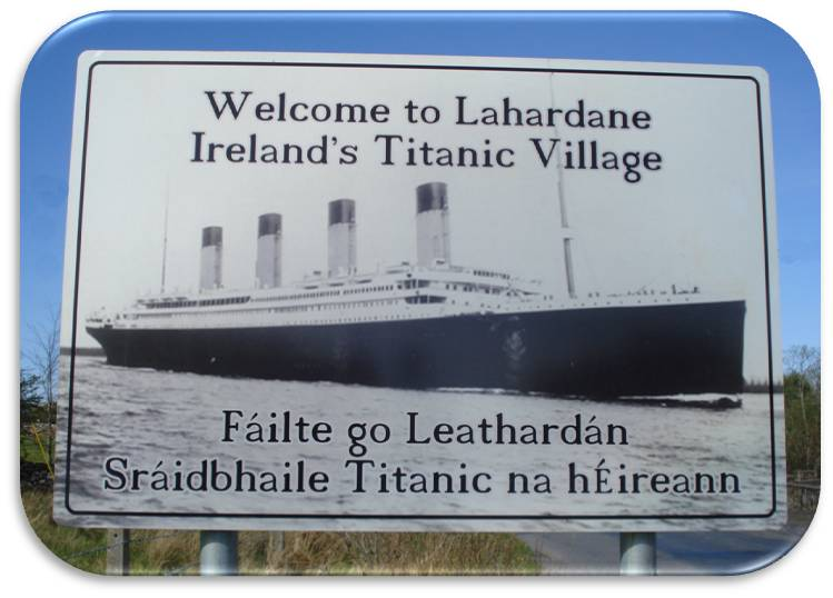 Ireland's Titanic Village, Lahardane, Ballina, Co Mayo: Courtesy KN Noone Photography