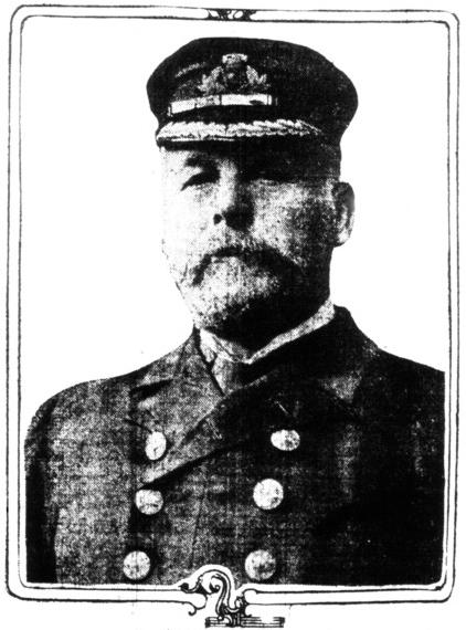 COMMANDER OF THE ILL FATED TITANIC