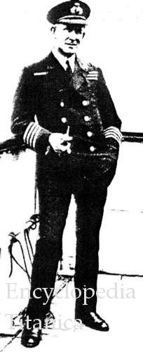 Captain David Blair, 1924