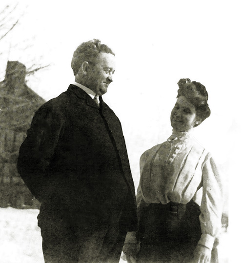 Dr. William Edward and Lilian Minahan