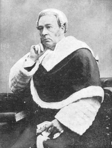 Lord Mersey in robes