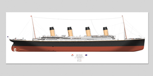 Titanic Wall Poster
