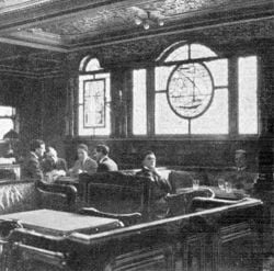 Titanic Smoking Room