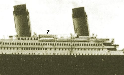 Titanic Starboard Side