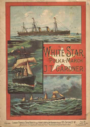 The White Star Polka - March