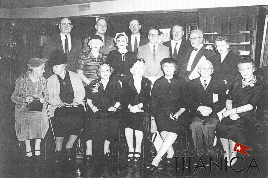 Titanic Survivors at A Night to Remember Screening