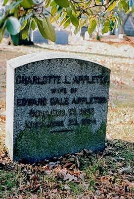 Grave of Charlotte Appleton