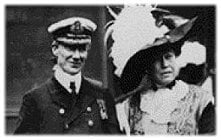 Captain Rostron and Molly Brown
