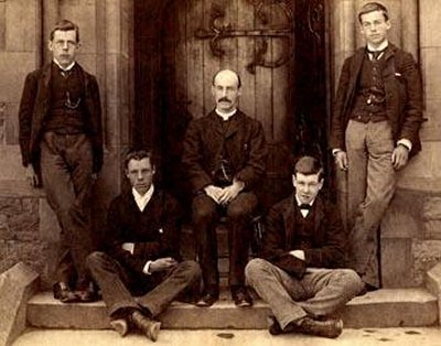 Byles at Rossall School (c.1889)