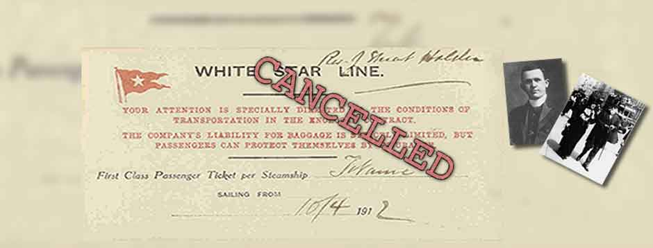 Cancelled Passages Aboard Titanic