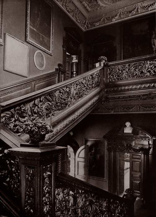 The Staircase at Crakemarsh Hall
