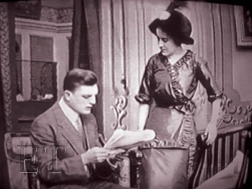 Dorothy Gibson in the Lucky Holdup