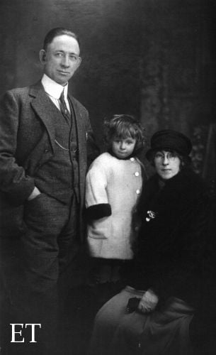 Eugene Daly and Family