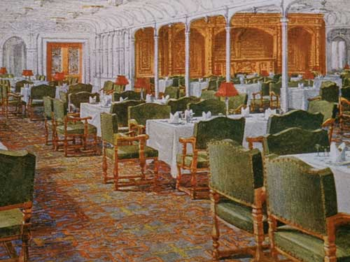 First Class Dining Saloon