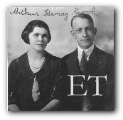 Selena Rogers Cook and husband Arthur Henry Cook