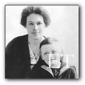 Elizabeth Ramell Nye Darby and her son George
