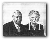 Elmer Zebley Taylor and third wife Beatrice