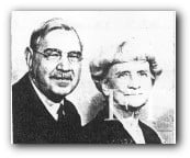 Elmer Zebley Taylor and second wife Katherine