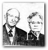 Oscar Hedman and wife Tillie