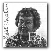 Edith Churchill Candee Mathews, daughter of Helen Churchill Candee
