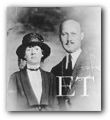 Philipp Edward Mock and his wife Alvis