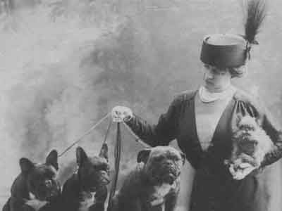Dog fanciers on the Titanic