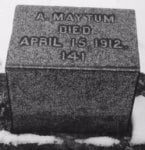 Alfred Maytum Grave