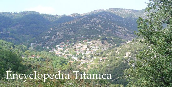 The village of Ayios Sostis, Greece