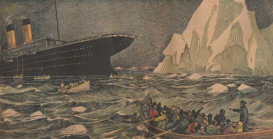 A Night to Forget : Renée Harris and the Titanic Disaster