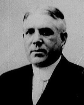 James McGough in 1922