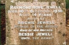 Archie Jewell Memorial