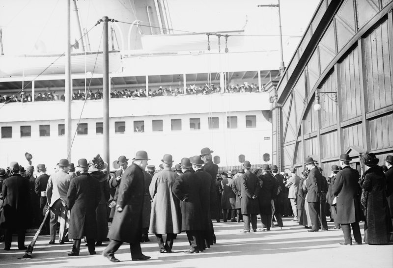 10th April 1912 - RMS Olympic, New York City