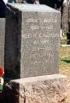 GRAVE OF JOHN STARR MARCH