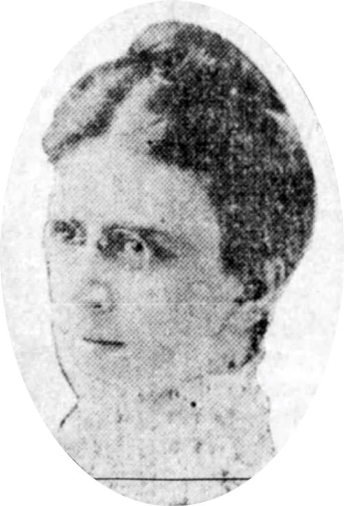 Mary Holverson in 1912