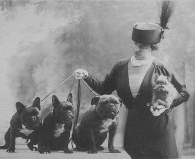 Nella with Dogs