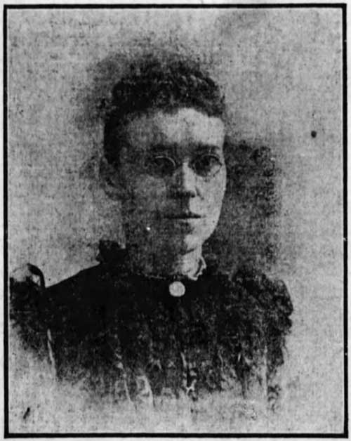 Nora Keane as a Young Woman
