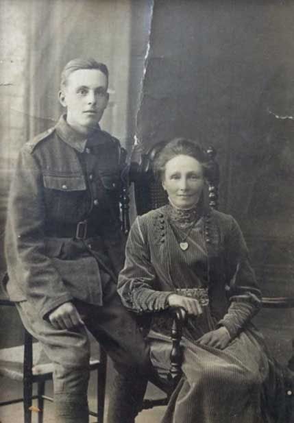 Percival Ward and his mother